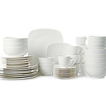 White Dinnerware, Porcelain Dinnerware Sets - Bed Bath & Beyond