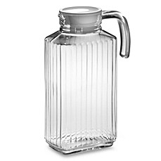 image of Quadro 57.25-Ounce Glass Pitcher with Lid