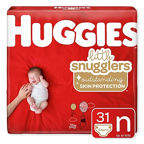 Huggies 174 Little Snugglers 32 Count Newborn Jumbo Pack