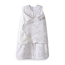 image of HALO® SleepSack® Floppy Friends Multi-Way Adjustable Cotton Swaddle