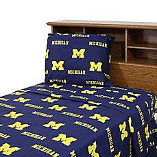 image of University of Michigan Sheet Set
