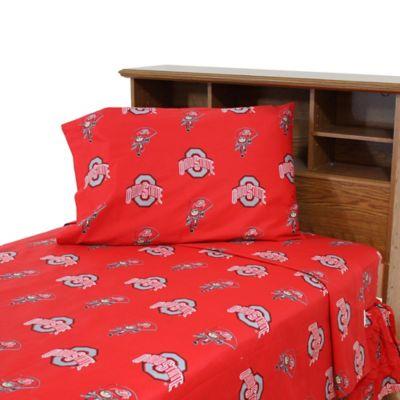 Ohio State University Sheet Set Bed Bath Beyond
