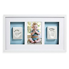 image of pearhead babyprints deluxe wall frame