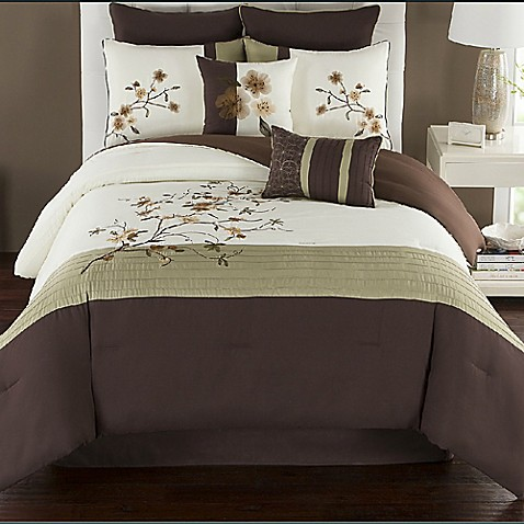 Camisha comforter set bed bath beyond - Bed bath and beyond bedroom furniture ...
