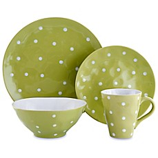 image of Maxwell & Williams™ Sprinkle Dinnerware Collection in Lime
