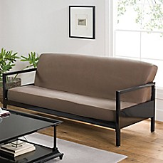 image of Loft NY Cotton Rich Futon Cover in Khaki