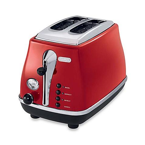 De Longhi Icona 2 Slice Toaster Bed Bath Amp Beyond