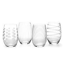 image of Mikasa® Cheers 17 oz. Stemless Wine Glasses (Set of 4)