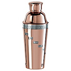 image of Oggi™ Copper Plated Dial A Drink™ Cocktail Shaker