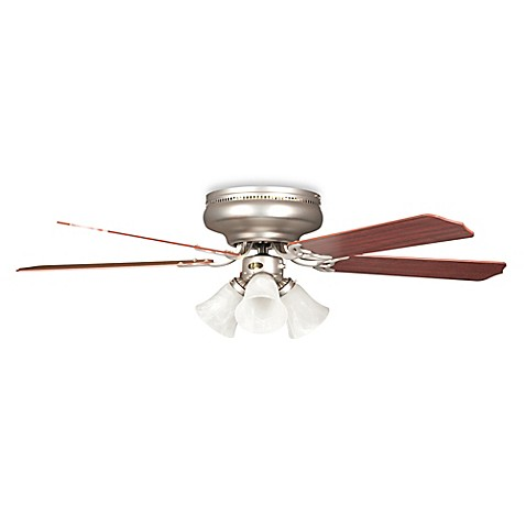 concord fans rosemount hugger 42 inch 3 light indoor ceiling fan in. Black Bedroom Furniture Sets. Home Design Ideas