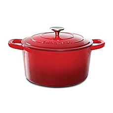 image of Crock-Pot® 5-Quart Round Cast Iron Dutch Oven