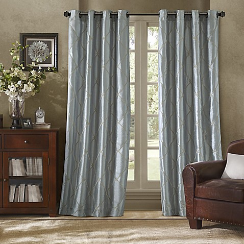 buy bombay garrison 95 inch grommet window curtain panel 20240 | 4737713257221g 478