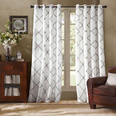 Bombay Garrison Grommet Window Curtain Panel Bed Bath