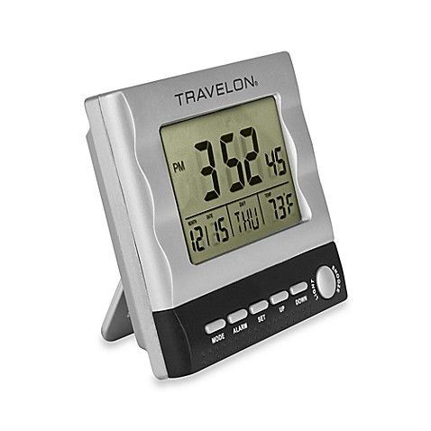 Travelon 174 Large Display Travel Alarm Clock Bed Bath Amp Beyond