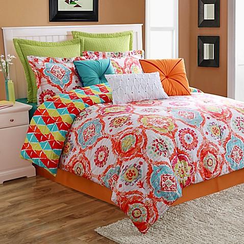 Fiesta 174 Ava Reversible Comforter Set Bed Bath Amp Beyond