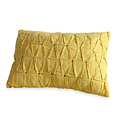 image of Fiesta® Estela Embroidered Dot Oblong Throw Pillow