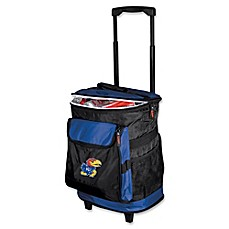 image of University of Kansas Rolling Cooler