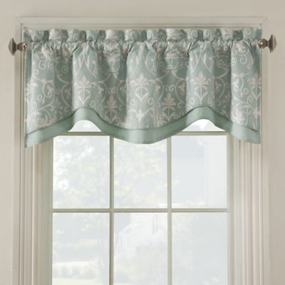 Salisbury Embroidered Valance Bed Bath Beyond