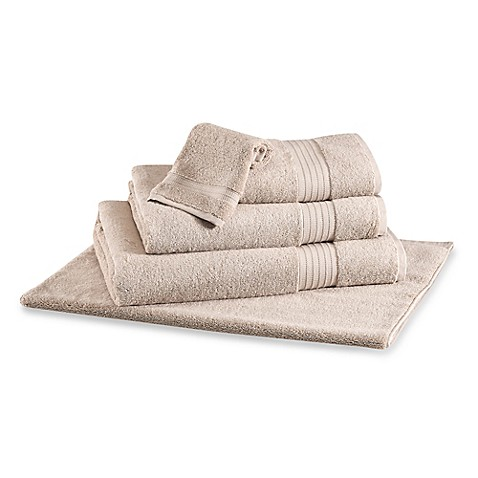 Buy frette at home milano bath towel in sand from bed bath for Frette milano