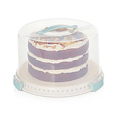 image of Sweet Creations 3-Piece Cake Carrier Set