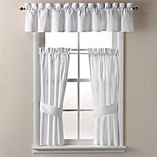image of Wamsutta® Regency Window Treatments in White