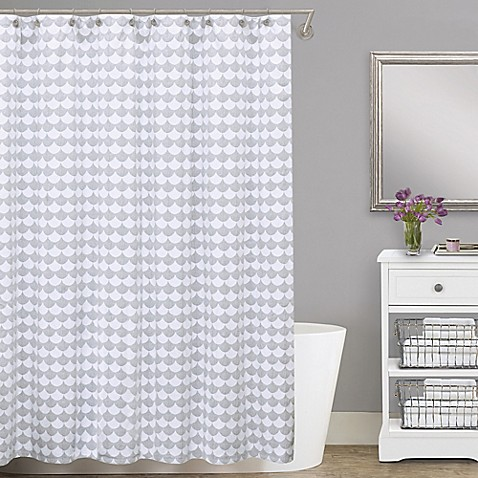 Lamont Homereg Finley Cotton Matelasse Shower Curtain