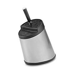 image of Kapoosh Slotless Stainless Steel Knife Block