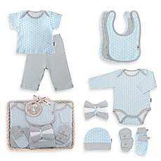 image of Tadpoles™ by Sleeping Partners Starburst Size 6-12M 12-Piece Layette Baby Gift Set in Blue