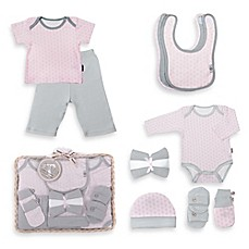 image of Tadpoles™ by Sleeping Partners Starburst Size 6-12M 12-Piece Layette Baby Gift Set in Pink