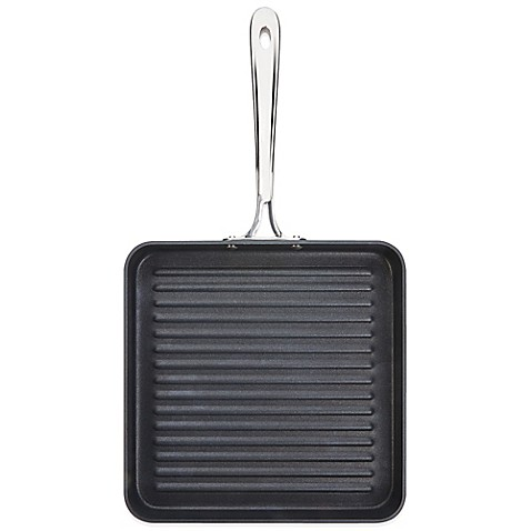 All Clad B1 Hard Anodized Nonstick 11 Inch Flat Square
