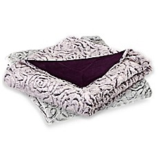 image of Azalea Micro-Mink Oversized Reversible Throw