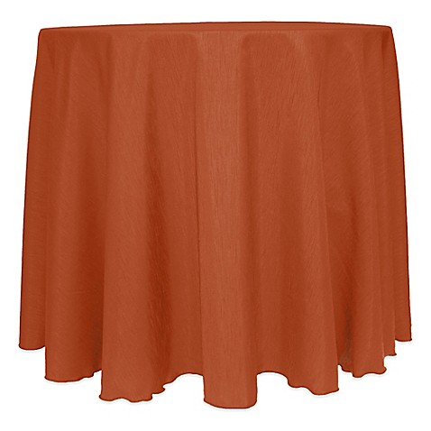 Buy Majestic Satin Finished 108 Inch Round Tablecloth In