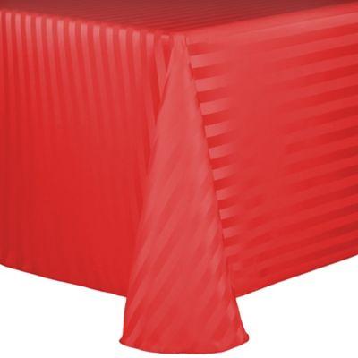 Poly Stripe Tablecloth Bed Bath Amp Beyond