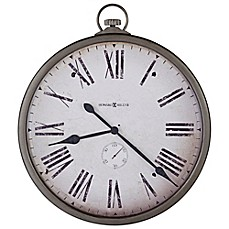image of Howard Miller Gallery Pocket Watch Wall Clock