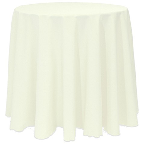 Buy basic 108 inch round tablecloth in oyster from bed for 108 inch round table cloth