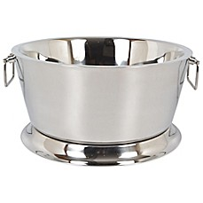 image of Double Walled Stainless Steel 17-Inch Beverage Tub