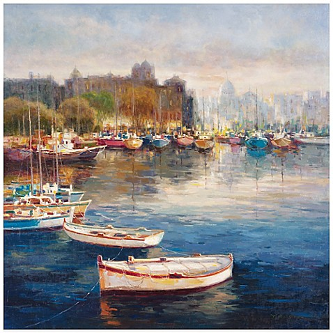 Bed Bath And Beyond Row Boats Wall Art