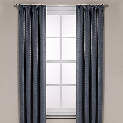 Buy diamond texture rod pocket room darkening 95 inch for Window curtains texture