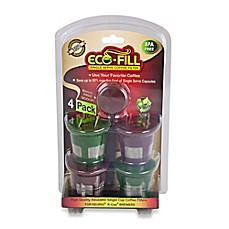 image of Eco-Fill® 4-Pack Single Serve Coffee Filter