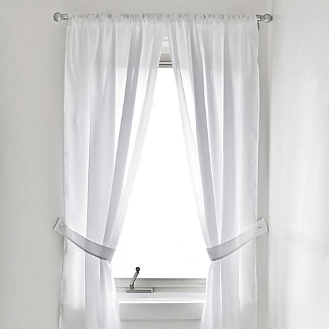 white bathroom window curtains vinyl bath window curtain in white bed bath amp beyond 21491