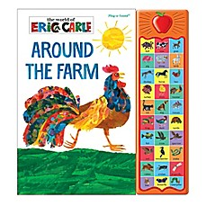 image of Around the Farm Play-A-Sound Book by Eric Carle