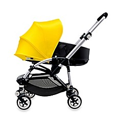 image of Bugaboo Bee3 Stroller Base in Aluminum/Black