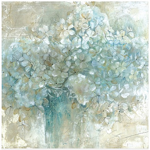 hydrangeas wall art - bed bath & beyond
