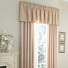 image of Michael Amini® Marbella Window Curtain Panel and Valance