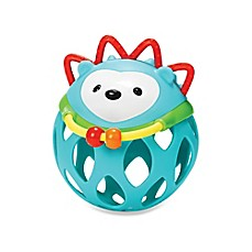 image of SKIP*HOP® Explore & More Roll Around Rattle in Hedgehog