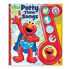 image of Elmo Potty Time Songs Board Book