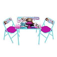 image of Disney® Frozen Activity Table and Chair Set