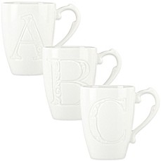 image of Lenox® Initially Mine Carved Monogram Mug