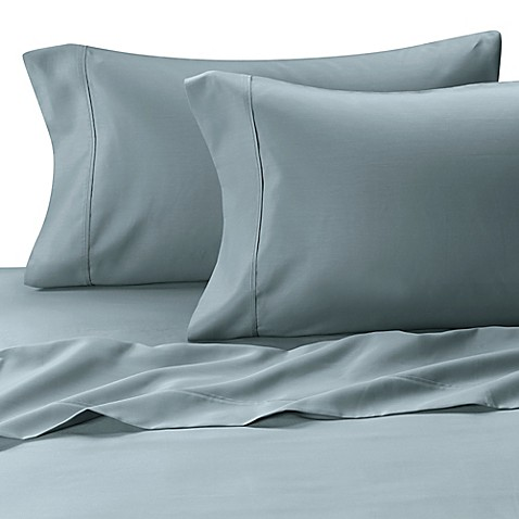 MicroTouch Sateen Standard Pillowcase (Set of 2) in Sky