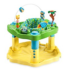 image of ExerSaucer® by Evenflo® Bounce & Learn™ in Zoo Friends
